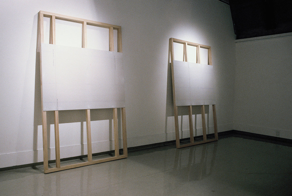 Four Walls  installation, SoFA Gallery, University of Canterbury, 2003