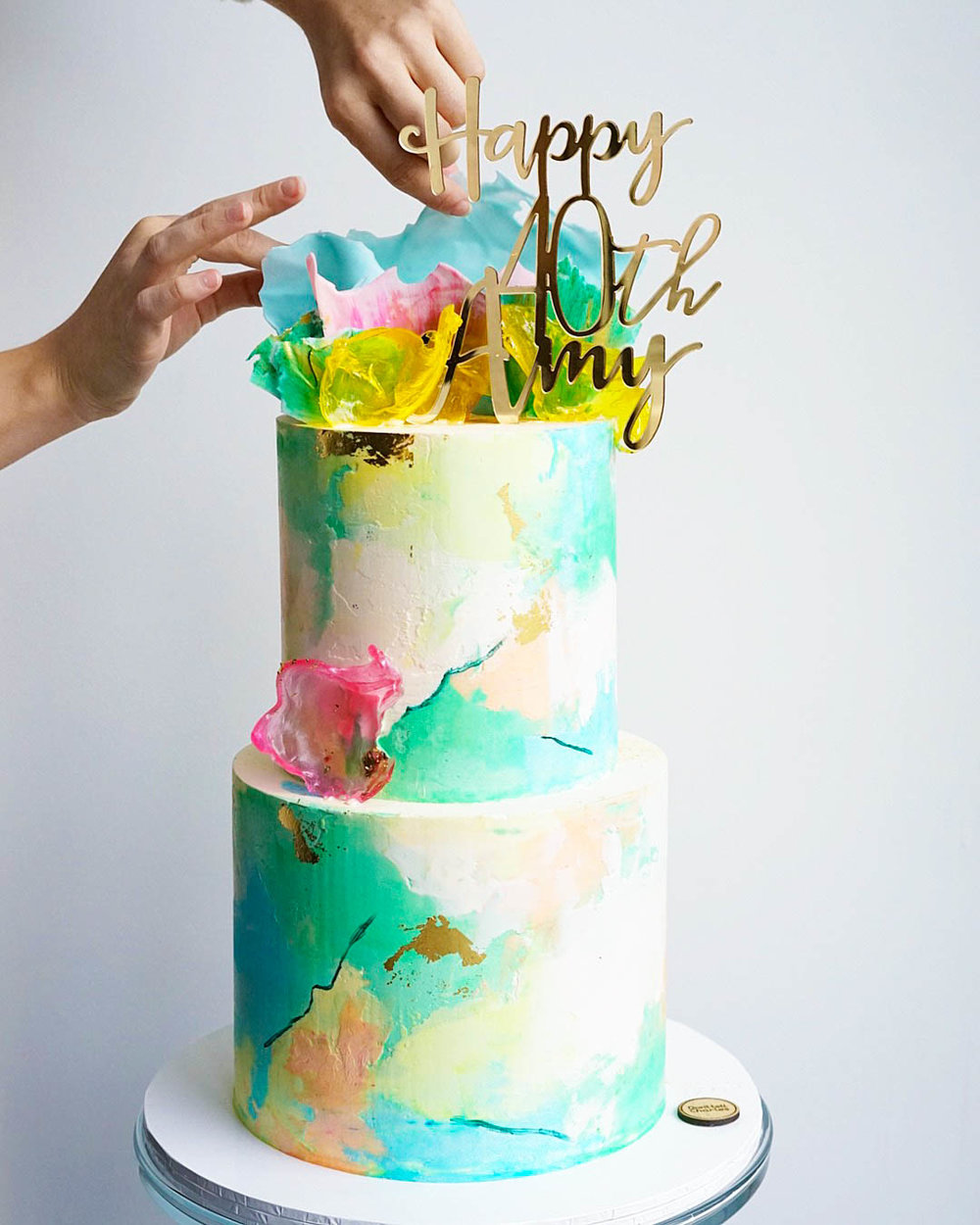 Bold, Bright & Fun Celebration Cake