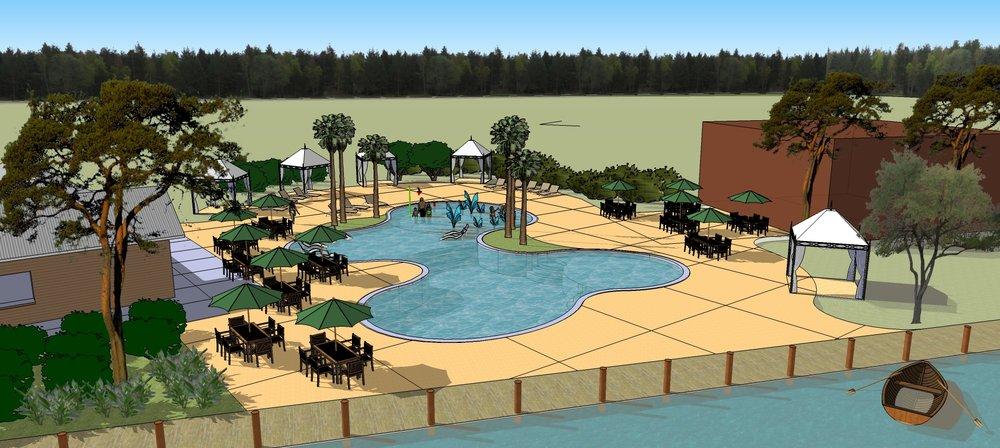Family Pool and Splash Area