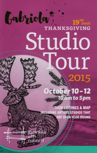 Gabriola Thanksgiving Studio Tour