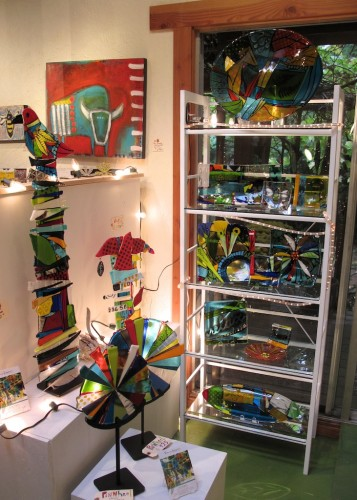 Fused glass, all sorts and sizes