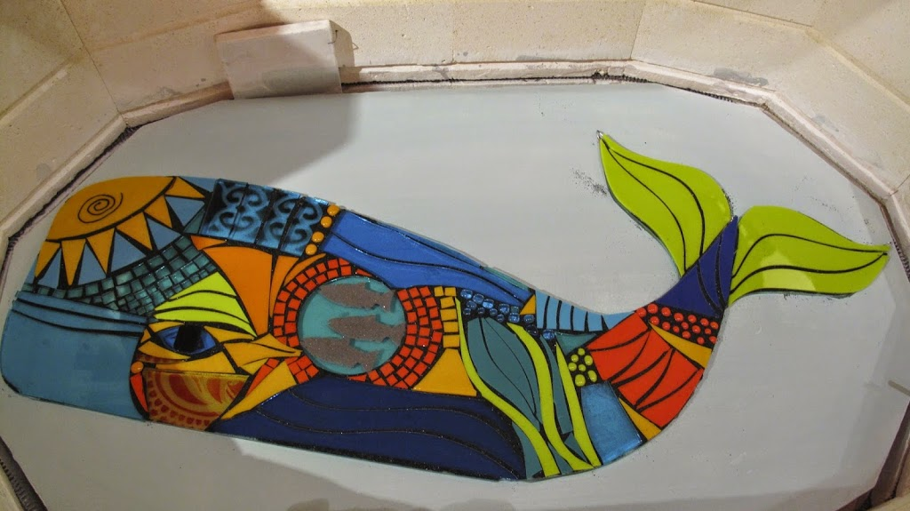 in the kiln pre-fusing