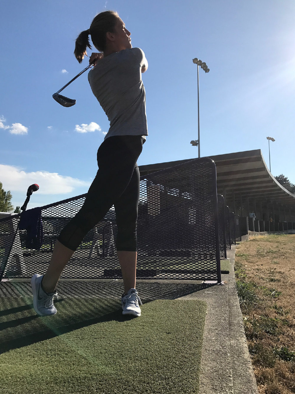 Practice your swing at the UW Driving Range (open to the public)!