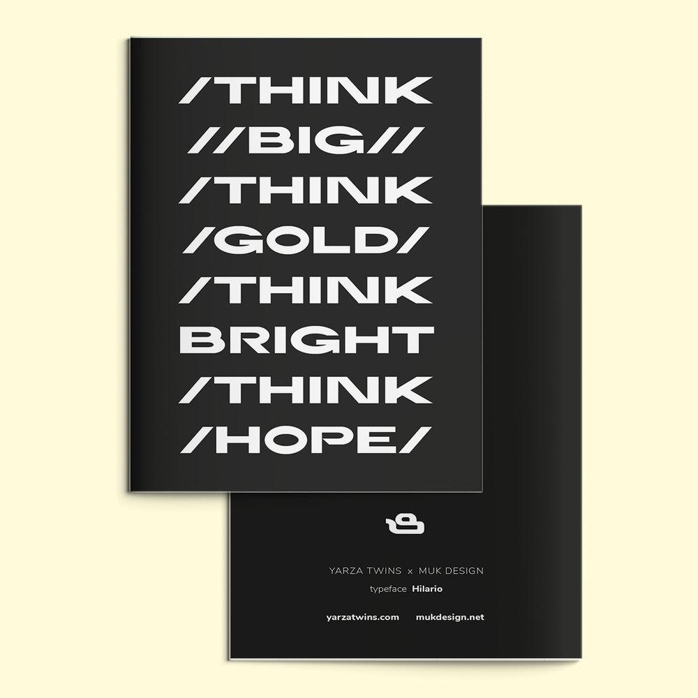 typeface no. 1 HILARIO -
