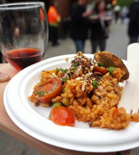 (Seafood Paella by Trevor Bird. Photo:@eatingwithkirby)