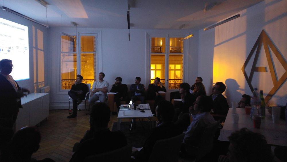 Les Rencontres #1 @Angelsquare - 18/01/2018Rencontre entre experts de l'Adtech dans les locaux d'Angelsquare.