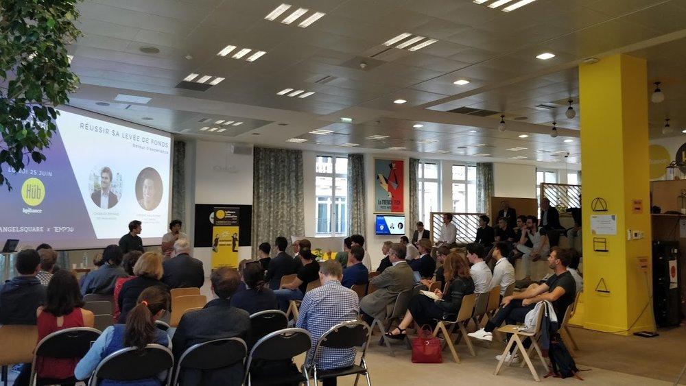 Les retours d'expériences @Hub BPI  - 25/06/2018Réussir sa levée de fonds: interview de Vincent Nallatamby, co-fondateur et CEO de la startup Tempow.