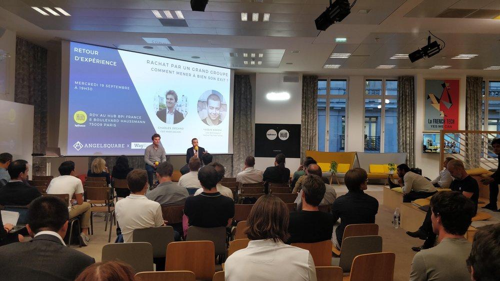 Réussir son exit avec WayKonect - 19/09/2018 @BPI FranceComment mener à bien son exit ? Retour d'expérience de Yassin Korchi, co-fondateur et CEO de la startup WayKonect suite au rachat par le groupe Total.Vidéo