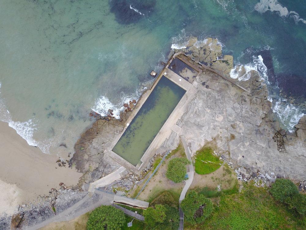yamba - yamba ocean baths, nsw