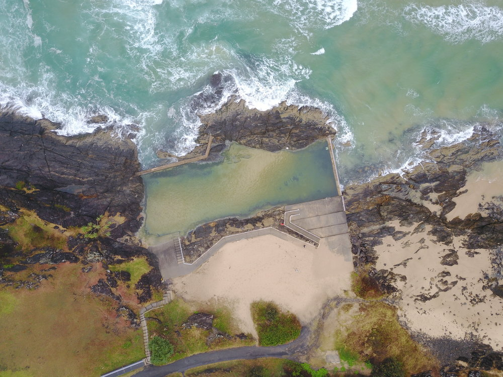 sawtell - sawtell memorial pool, nsw