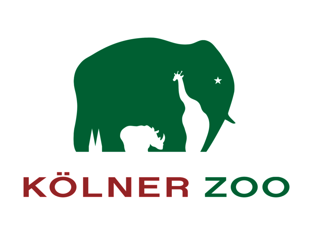 This logo of a German zoo on Cologne is also a nice way of using negative space.