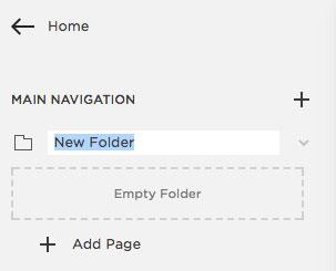 Adding a drop down menu in Squarespace   MNFL Design