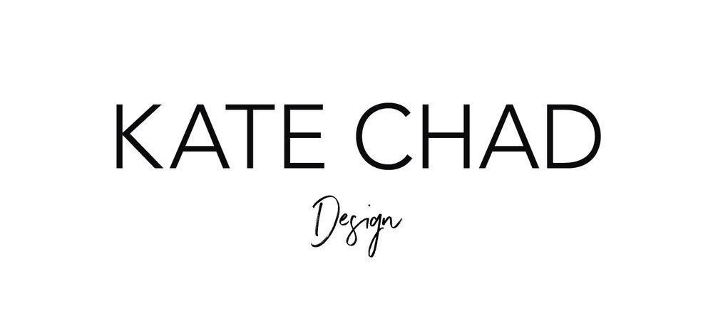 my brand design process for KATE CHAD | MNFL Design