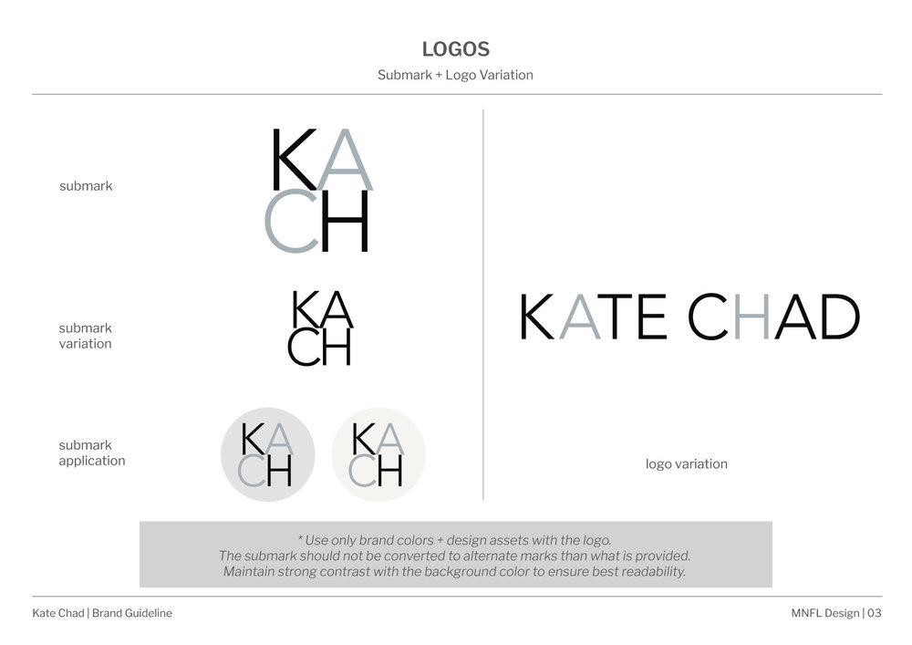 Kate Chad Brand Style Guide_submark + logo variation.jpg