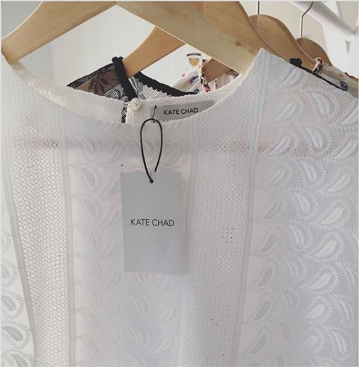 my design process for KATE CHAD | clothing tag | MNFL Design