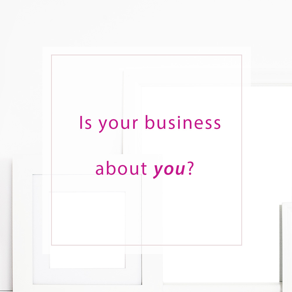 Is your business about you?   MNFL Design