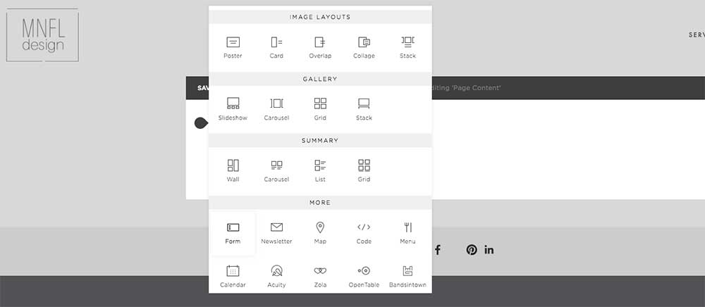 How to set up a form on Squarespace | MNFL Design