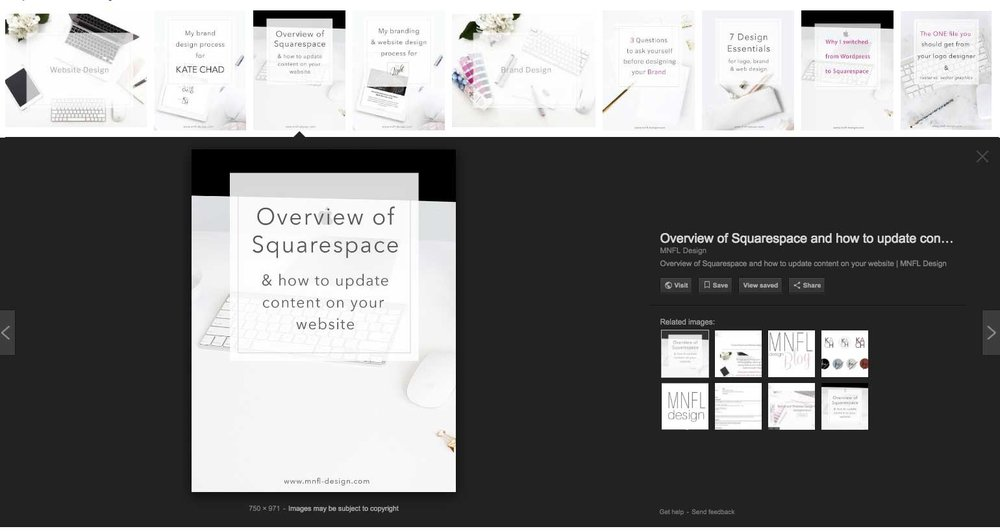 How to make your Squarespace website SEO friendly | MNFL Design