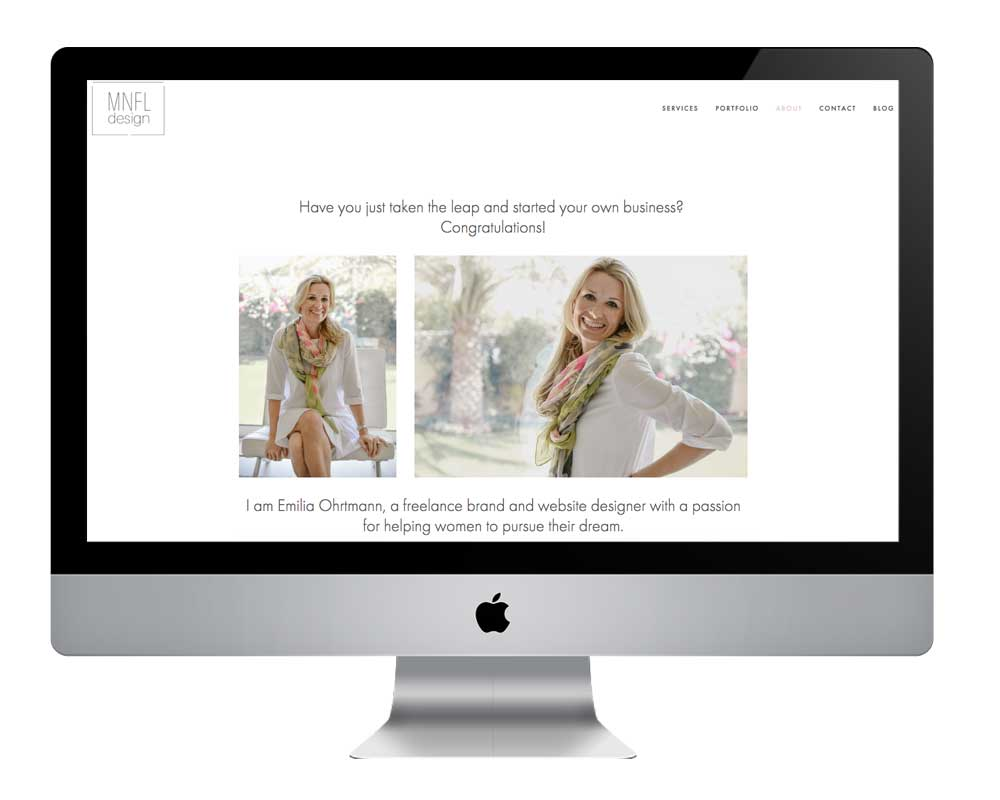 Why you need professional photographs for your website | MNFL Design