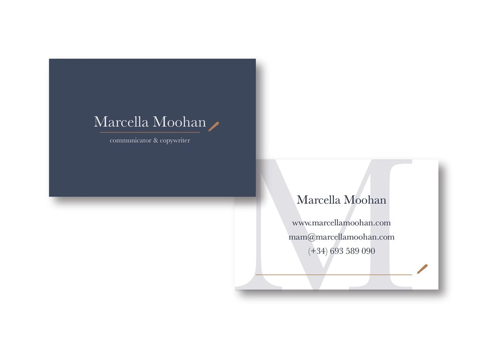 My brand and website design process with Marcella Moohan | MNFL Design