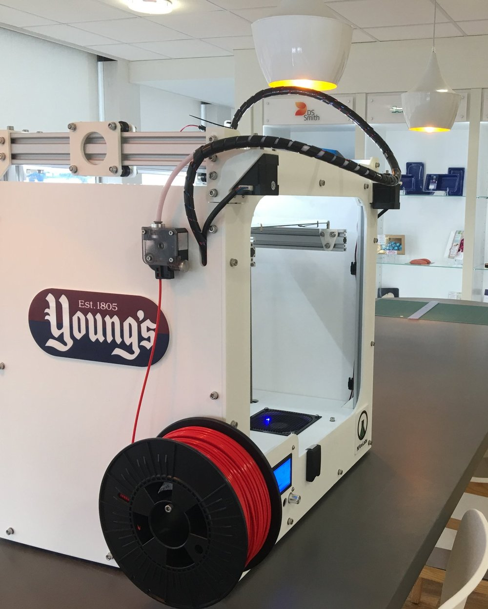 Young's 3D Printer in their Innovation Centre