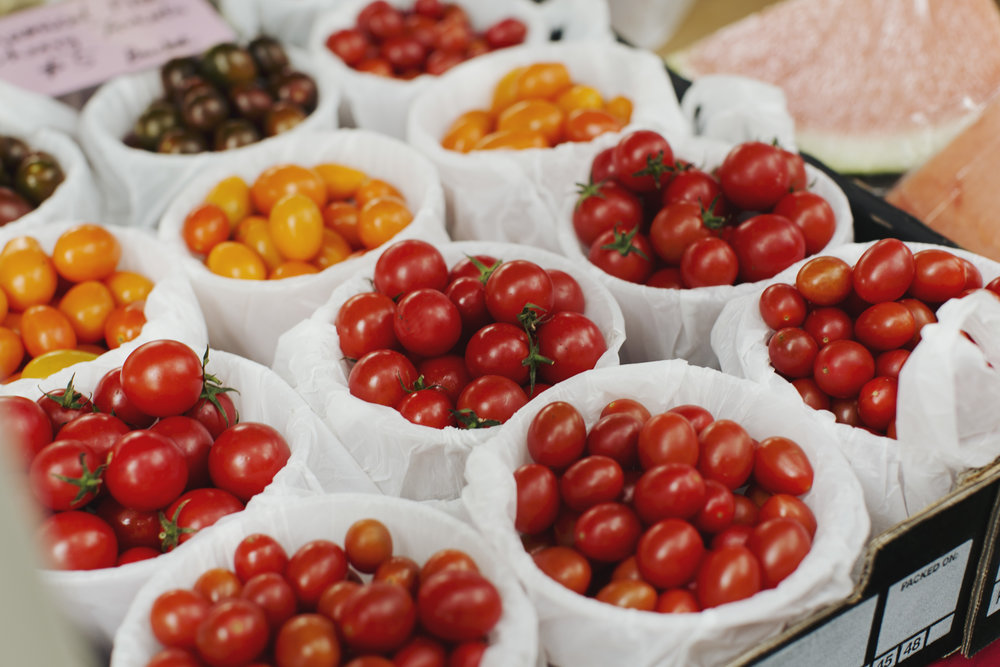 Rose Bay markets tomatoes