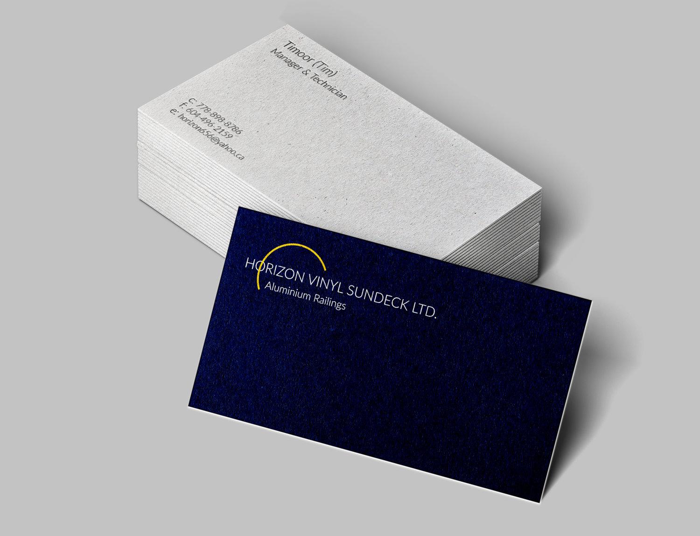 Horizon Vinyl Sundeck Ltd. — Khatira Omar