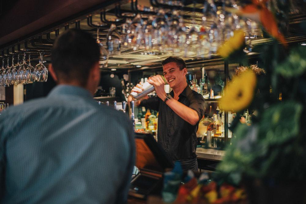 Bartender at The Cherry Tree Pub and Restaurant Olney Buckinghamshire.jpg