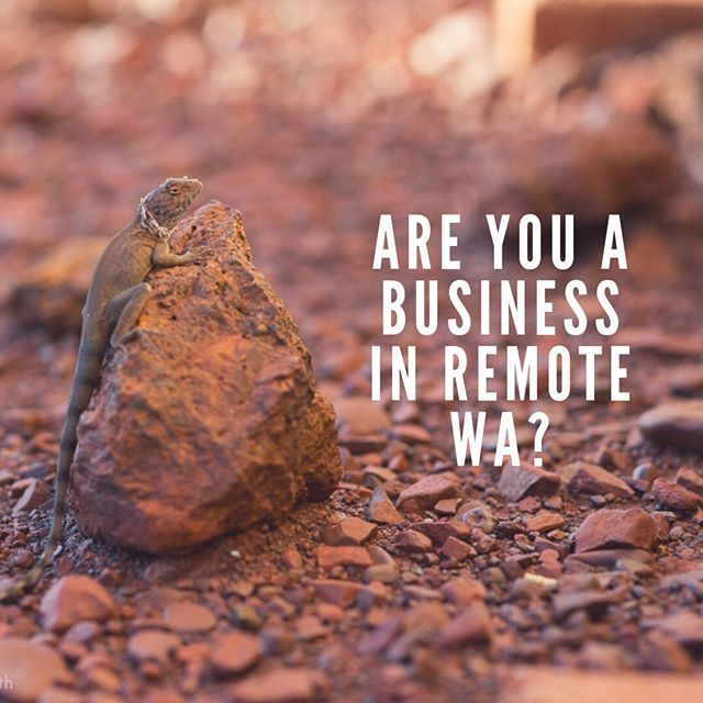 Calling all Remote WA businesses! ☀️ I'm finding there's a big disconnect when it comes to running and starting your own business in a remote area so I have set out to create an online community to share experiences, support each other and learn from each other - if your interested in joining me please check the FB group at the link in my bio and share with other businesses you know 😊