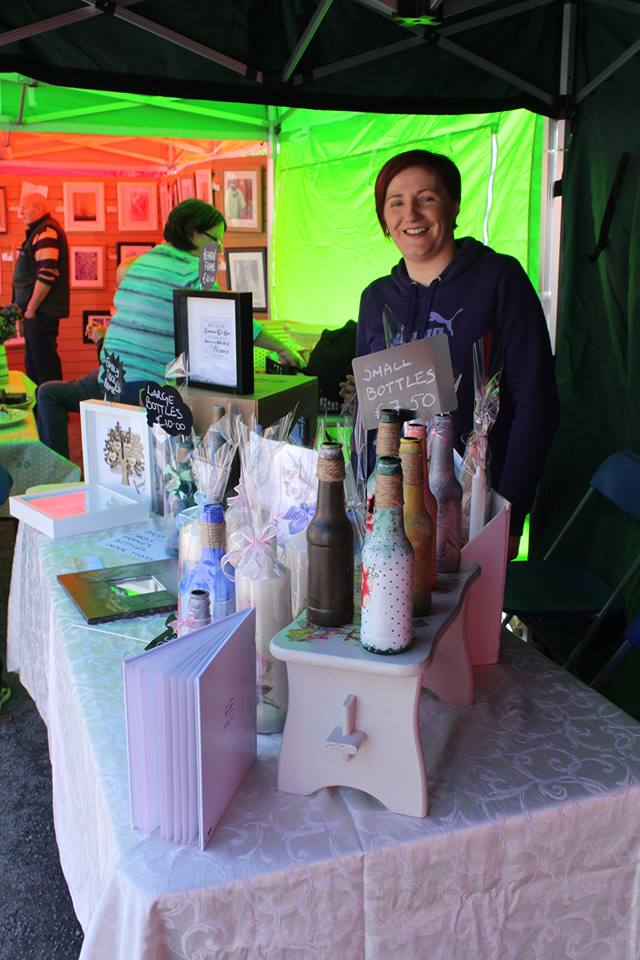- Lynda & Colette exhibit elegant accessories - shoes, bags and jewellery, a real touch of class!! We also had Edwina with her amazing personalised cards and crafts, guaranteed to blow you away.
