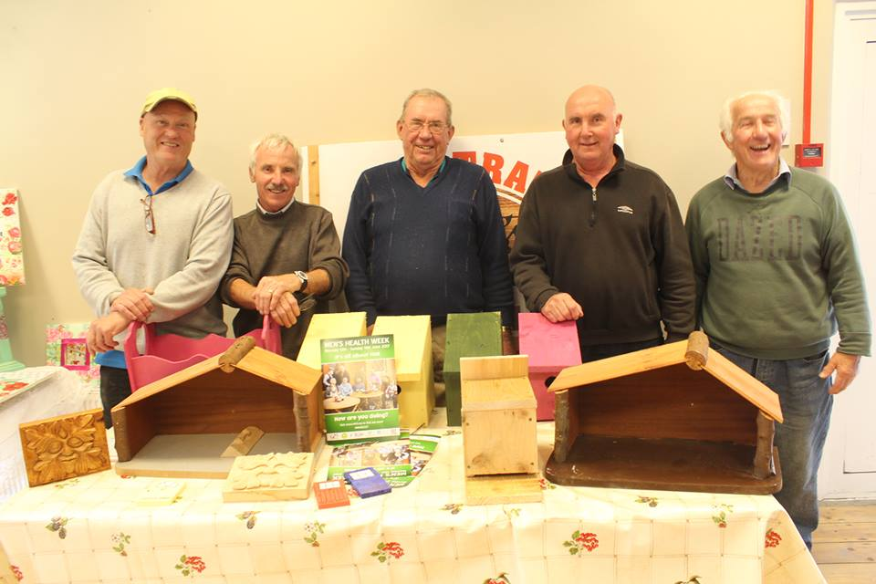 - Sheryl brings with her a link to fairyland with her amazing hand-crafted Fairy Doors and attire. We are delighted to have the local Men's Shed join us with their wooden crafts and wood turning.