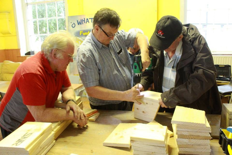 - The Men's Shed Mountrath was founded in July 2016.