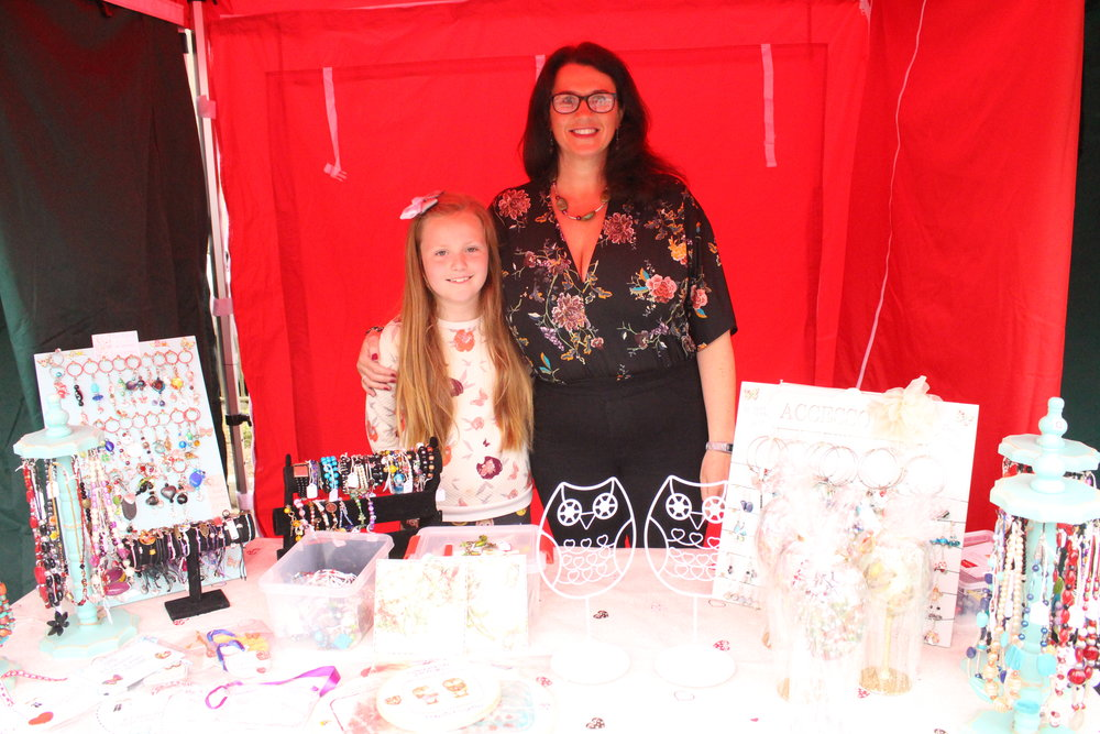 - Elaine Hyland will be bringing homemade jewellery, picture frames, gifts of all descriptions