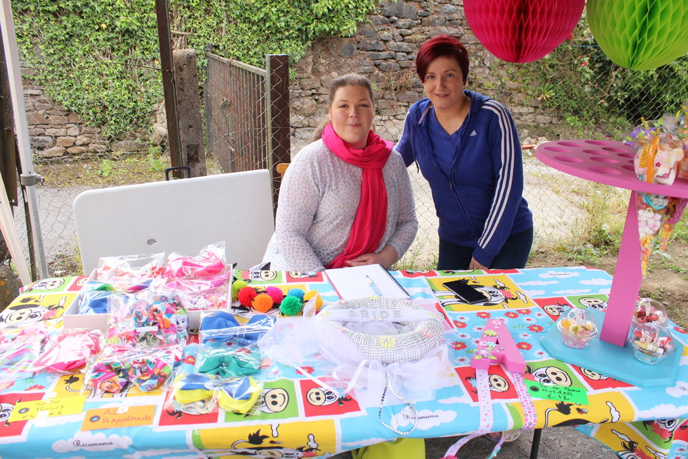 - Anne & Angela have the kiddies sorted for the day - providing all kinds of sweets & treats