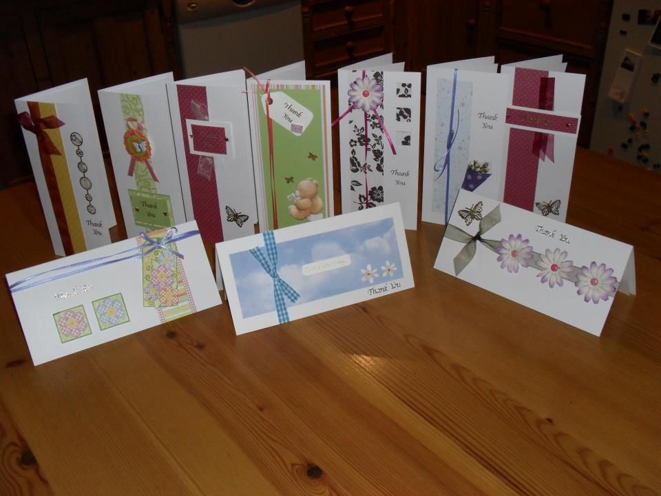 Personalised Cards made to order from Crafts By Edwina 087 9082828