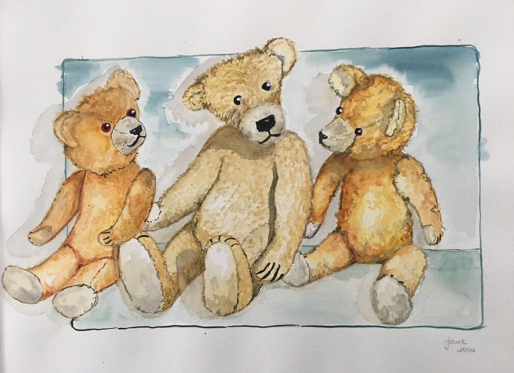 teddies from childhood 1