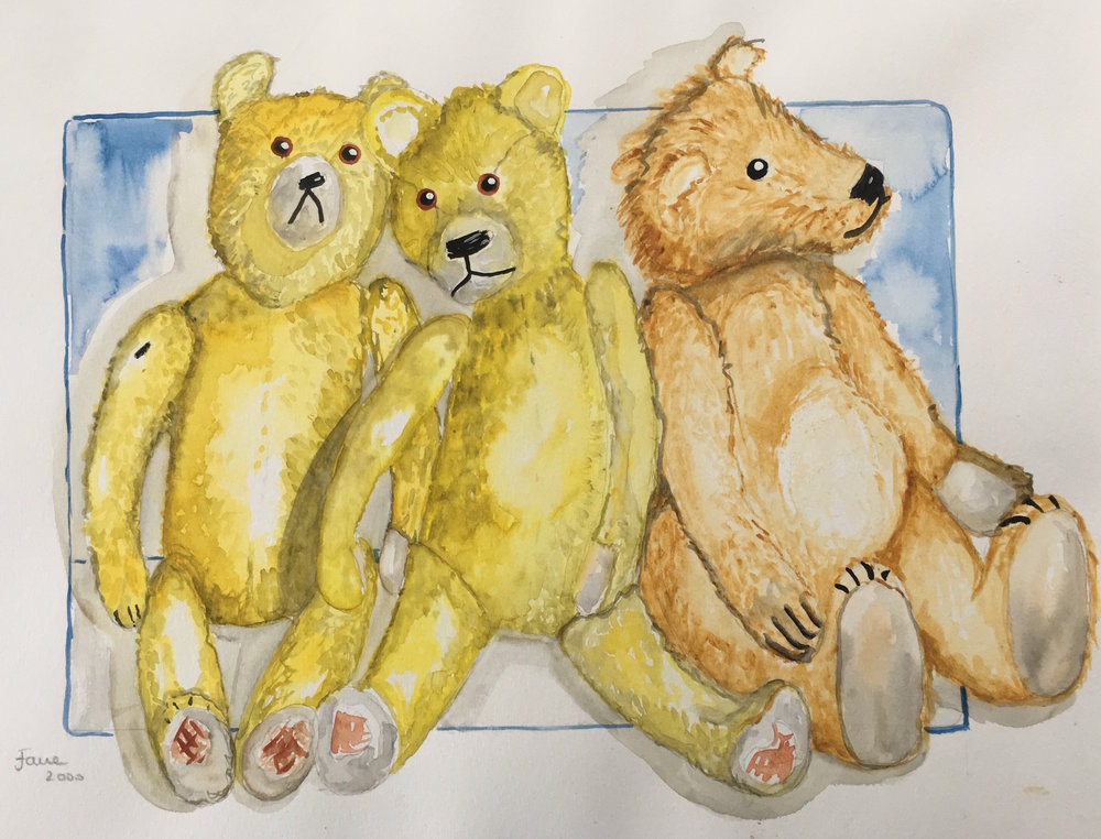 teddies from childhood 2
