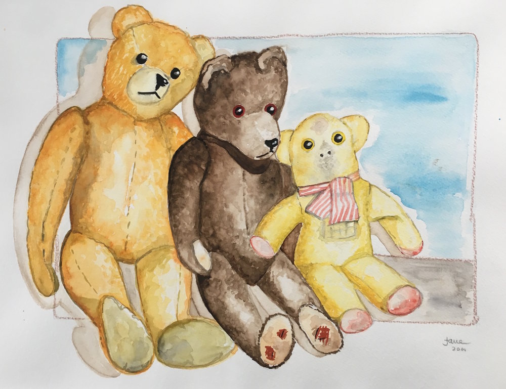 teddies from childhood 3