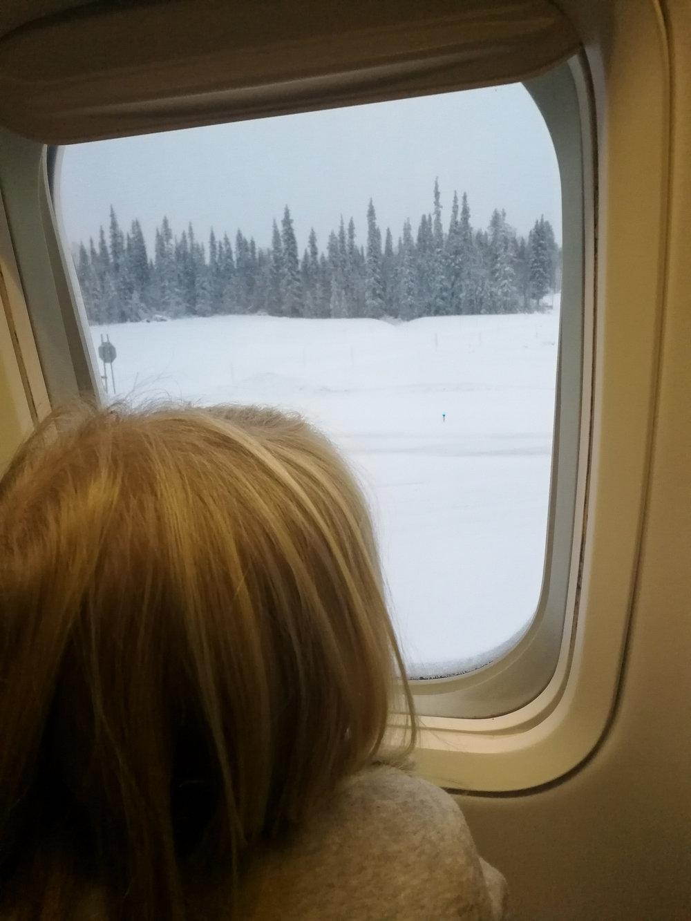 Family trip to Lapland