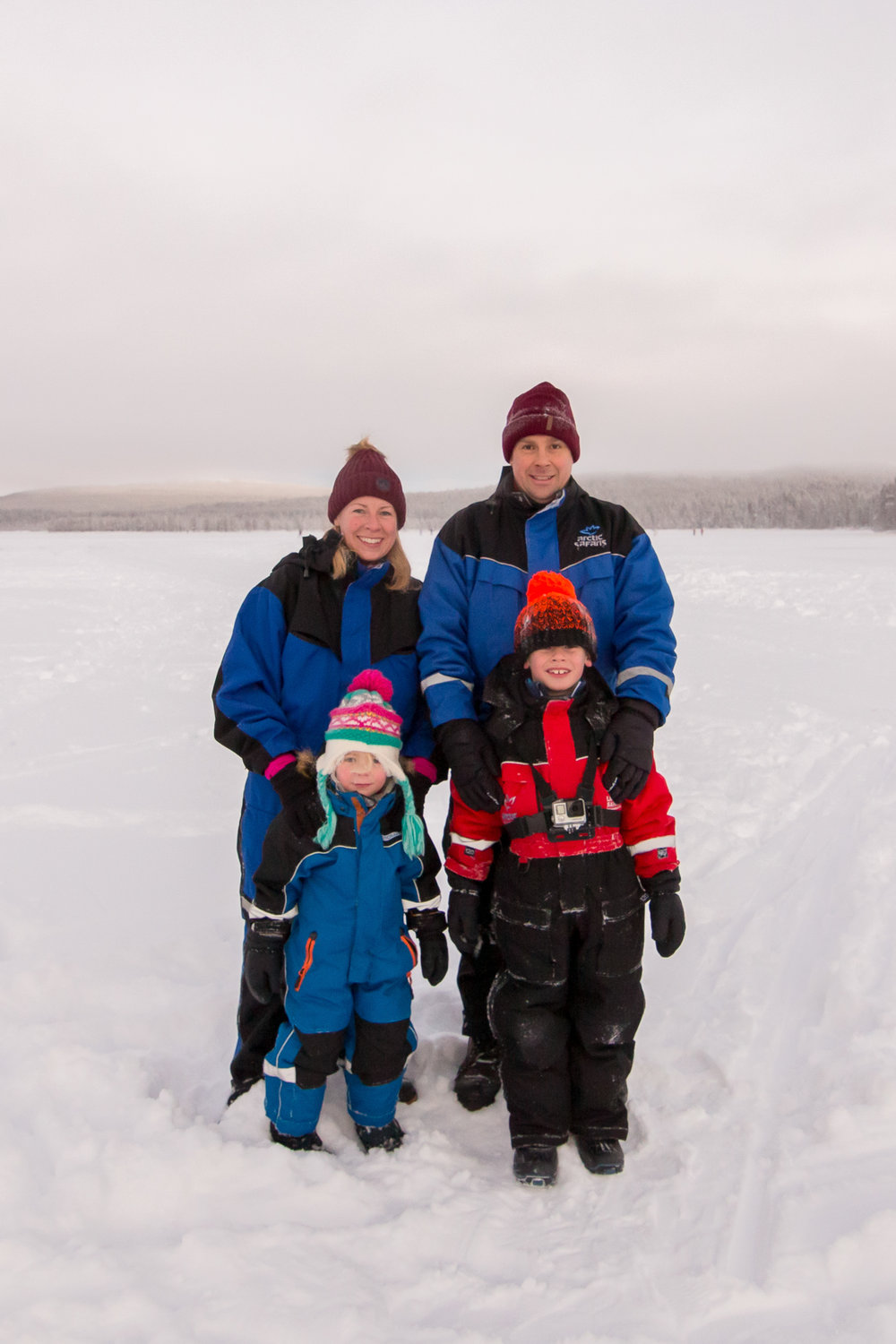 Family holiday to Lapland
