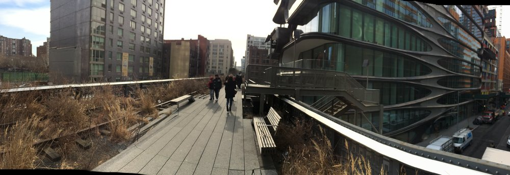 The High Line in Manhattan's West Side