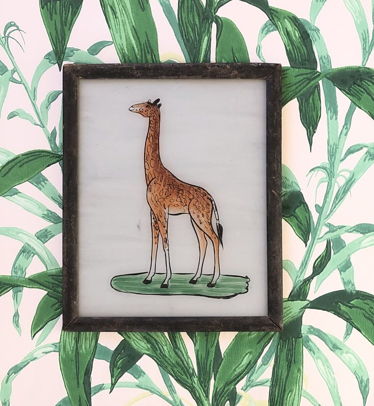 Giraffe Glass Painting.jpg