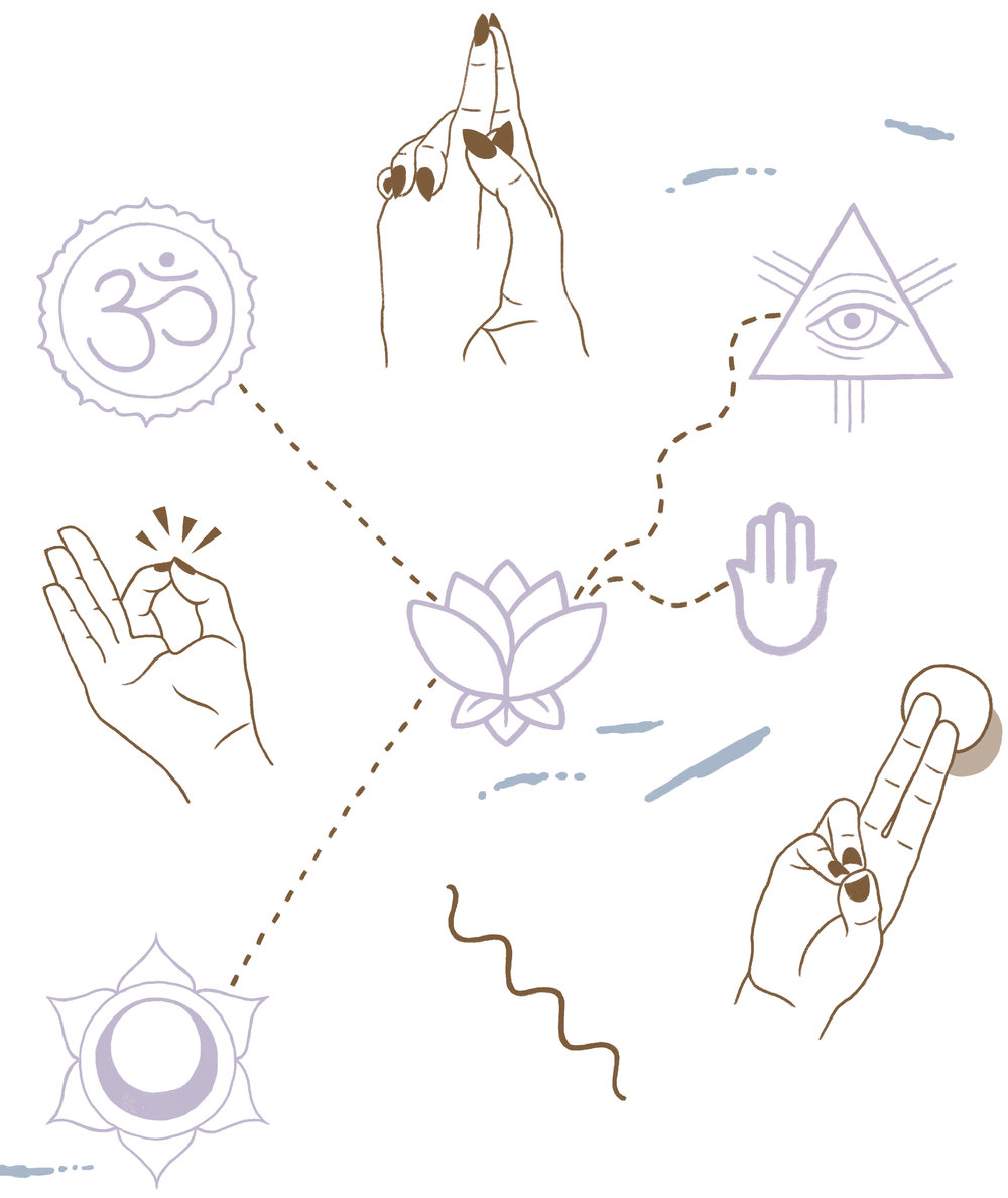 Some believe that continuous mudra practice creates minute changes in the body using pulse centres on parts of the hands that trigger certain healing processes within the corresponding body parts -