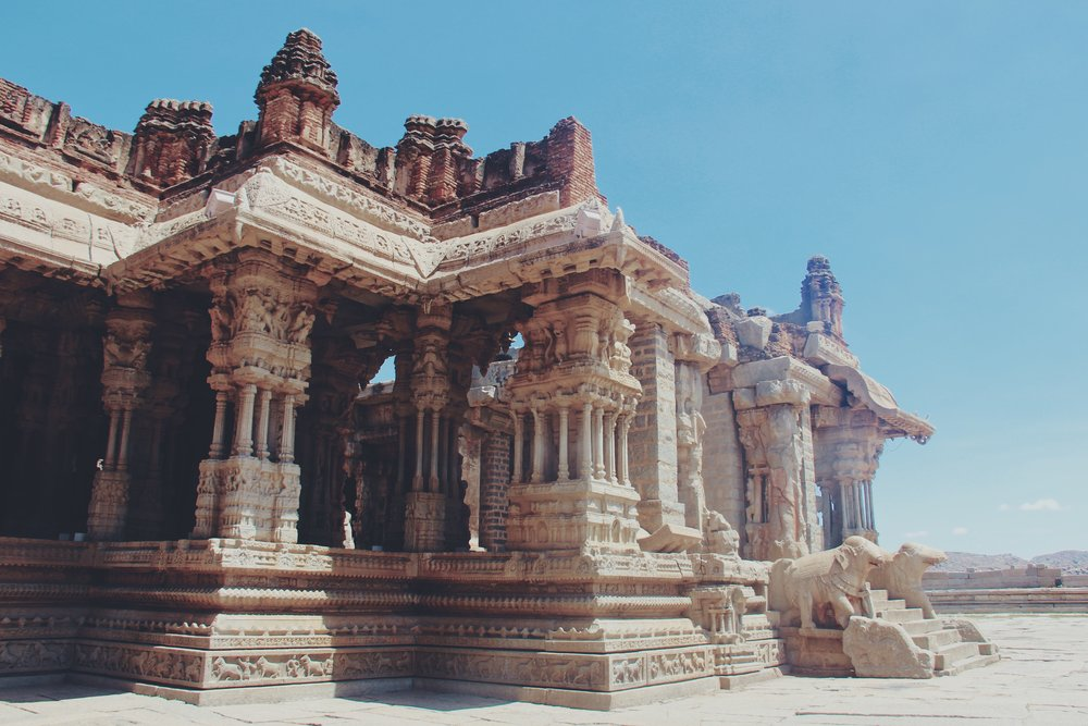 Vijaya Vittala Temple in Hampi.