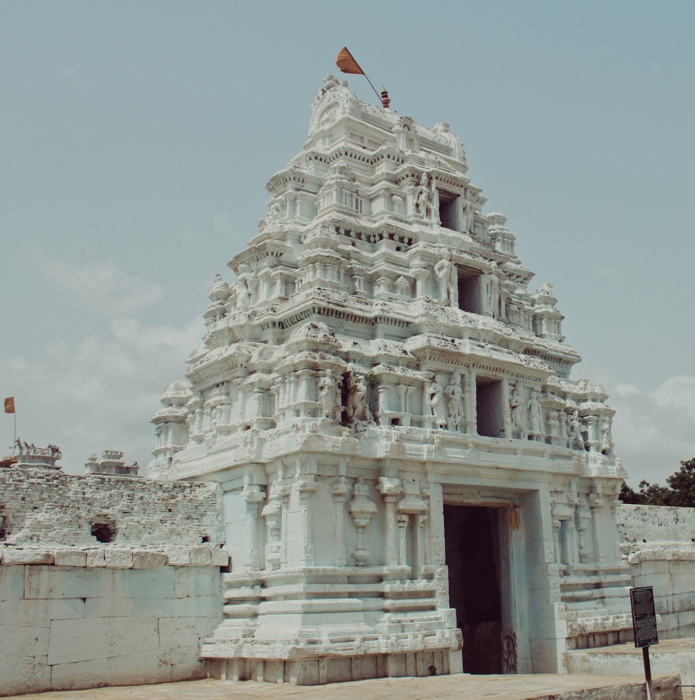 This is the only photo from the entire trip that I cannot place with 100% certainty anymore, but I want to say it was part of a temple in Pondicherry. -