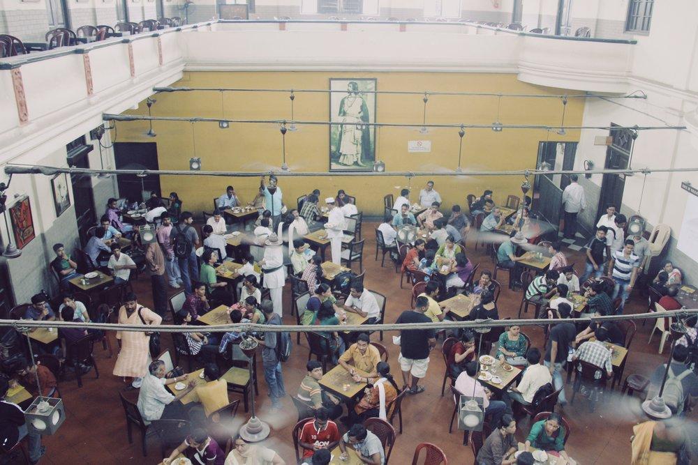 A busy eatery in Kolkata.