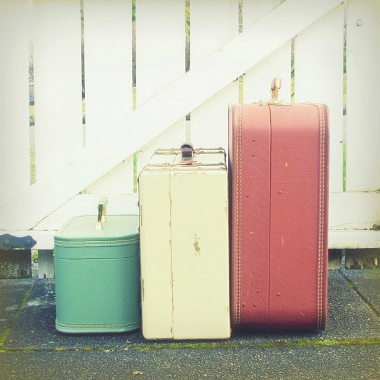 decorar con maletas