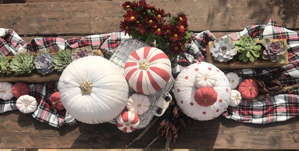 calabazas, deco, decoracion, otoño