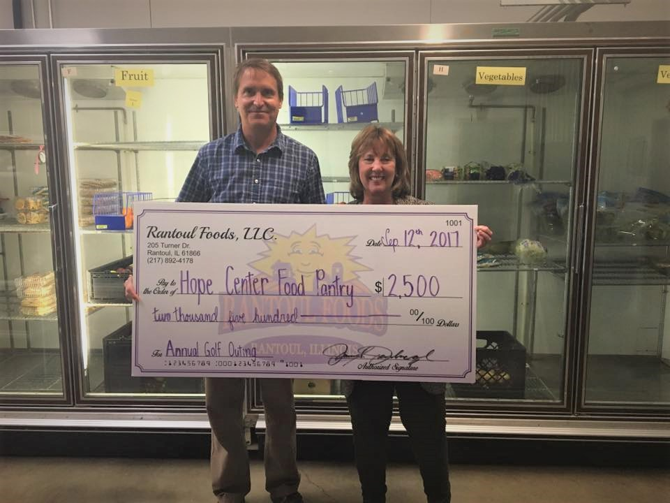 Hope Center Food Pantry Donation