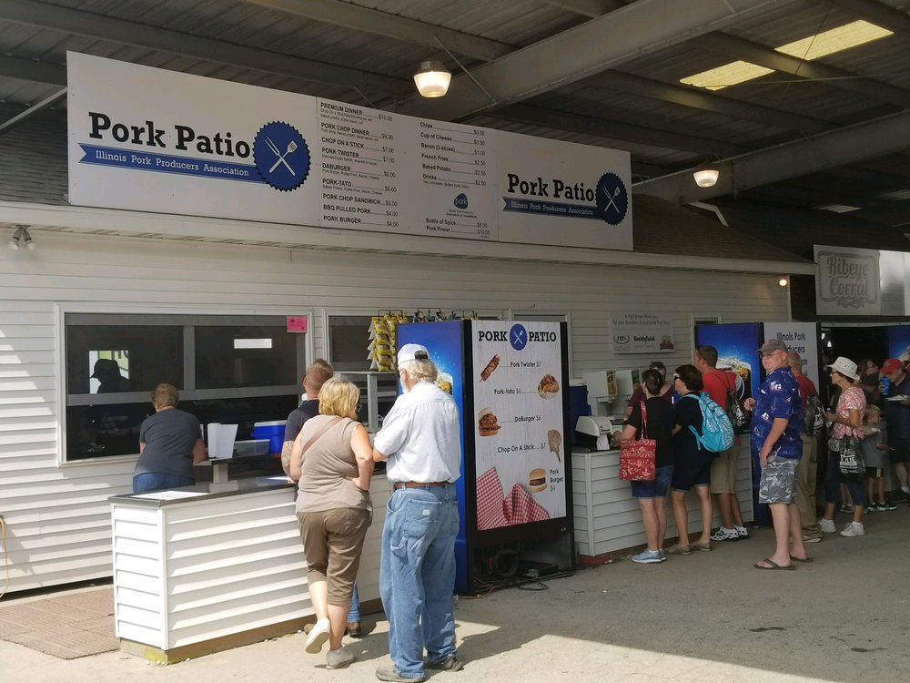 State Fair Pork Patio